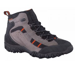 Allrounder by Mephisto ankle boots SAMBOR-TEX grey and black leather   (waterproof)      FREE SHIPPING