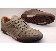 Allrounder by Mephisto DOMINO sand beige leather suede