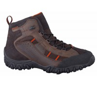 Allrounder by Mephisto SAMBOR-TEX brown leather waterproof outdoor boot for men