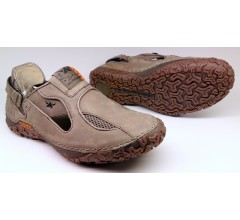 Allrounder by Mephisto PARRY moonrock  taupe beige leather