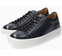 Mephisto Cristiano smooth leather lace-up shoe for men blue