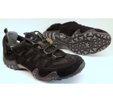 Allrounder by Mephisto FIOLA black suede open mesh