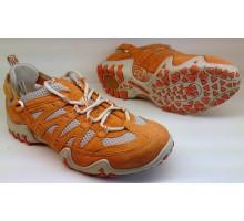 Allrounder by Mephisto FIOLA orange suede open mesh