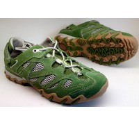 Allrounder by Mephisto NIWA kiwi green suede open mesh