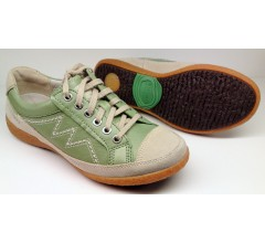 Allrounder by Mephisto GIANNA apple green leather laceshoes for women