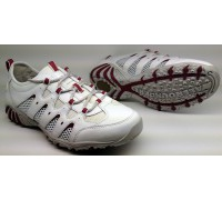 Allrounder by Mephisto ORANDA white leather and open mesh