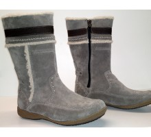 Allrounder by Mephisto GESA taupe grey suede  WARM LINED
