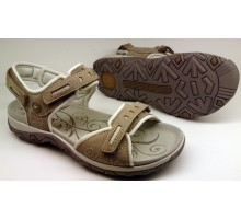 Allrounder by Mephisto LAGOONA taupe grey nubuck