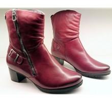 Mephisto DELANA oxblood red leather