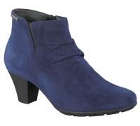 Mephisto BELMA women's ankle boot -  indigo blue suede