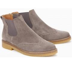 Mephisto FELICITA dark grey leather chelsea boot for women