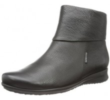 Mephisto FIDUCIA black leather ankle boots for women
