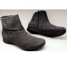 Mephisto FIDUCIA bucksoft grey nubuck ankle boots for women