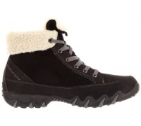 Allrounder by Mephisto NANGA woollined waterproof boot women black