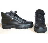 Mephisto SIERRA black leather waterproof boots for men