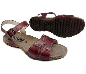 Mephisto BYLBA red leather women sandal