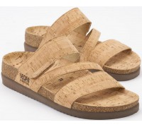 Mephisto BAMBOU - womens sandal - CORK material sand natural product