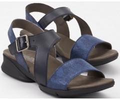 Mephisto FIDJI navy blue leather