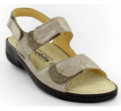 Mobils by Mephisto GETHA camel beige patent leather     WIDE FIT