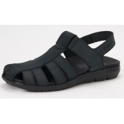 Mephisto CESAR leather sandals for men black