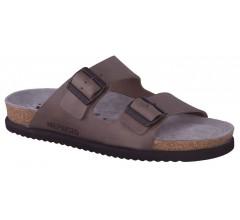 Mephisto NERIO pewter grey leather slipper for men