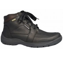 Mephisto BALTIC black leather goretex waterproof boots for men