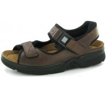 Mephisto ATLAS FIT SANDALCALF dark brown leather