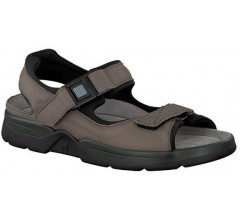 Mephisto ATLAS FIT GRIZZLY pewter grey leather sandals