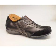 Mephisto ADELMO black leather and suede