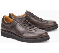 Mephisto ADRIANO dark brown leather handmade mens shoes