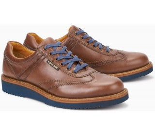 Mephisto ADRIANO chestnut brown leather handmade mens shoes