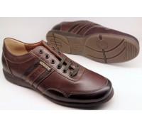 Mephisto BONITO chestnut brown leather