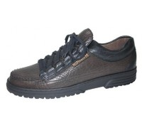 Mephisto CRUISER dark brown black combi leather