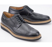 Mephisto ENRICO HERITAGE black leather lace-up shoes for men