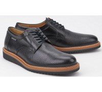 Mephisto ENZO black leather lace-up shoes for men