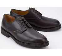 Mephisto MARLON ELCHO dark brown leather formal laceshoe
