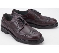 Mephisto MATTHEW Men's Laceshoe - Hand Made - Red      GOODYEAR WELT
