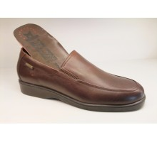 Mephisto CARY brown leather slip-on shoe for men
