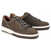 Mephisto MICK nubuck leather sneaker for men taupe