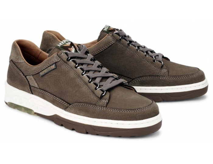 1148cf13a9 Mephisto MICK nubuck leather sneaker for men taupe