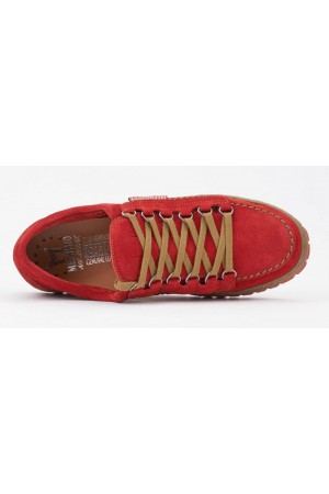Mephisto RAINBOW VELOURS orange red suede