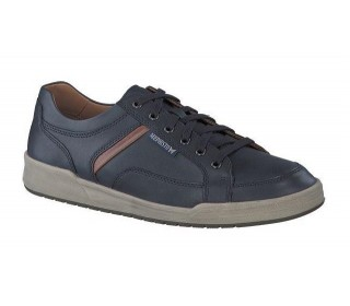 Mephisto RODRIGO leather navy blue