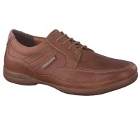 Mephisto RONAN desert brown leather lace shoe for men