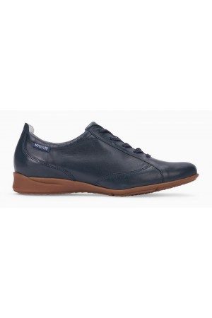 Mephisto VALENTINA lace shoe for women dark blue leather