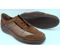 Mephisto DEBORA chestnut brown leather suede