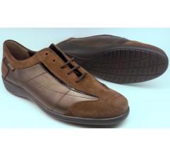 Mephisto DEBORA chestnut brown leather suede