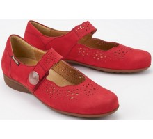 Mobils by Mephisto FABIENNE BUCKSOFT red nubuck WIDE FIT