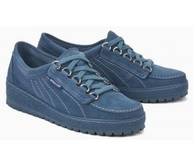 Mephisto LADY women lace shoe blue