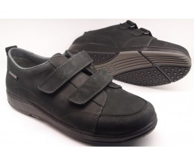 Mobils by Mephisto BERIZIO black nubuck  VELCRO      WIDE FIT