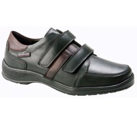 Mobils by Mephisto EYMAR wide fit mens shoe black